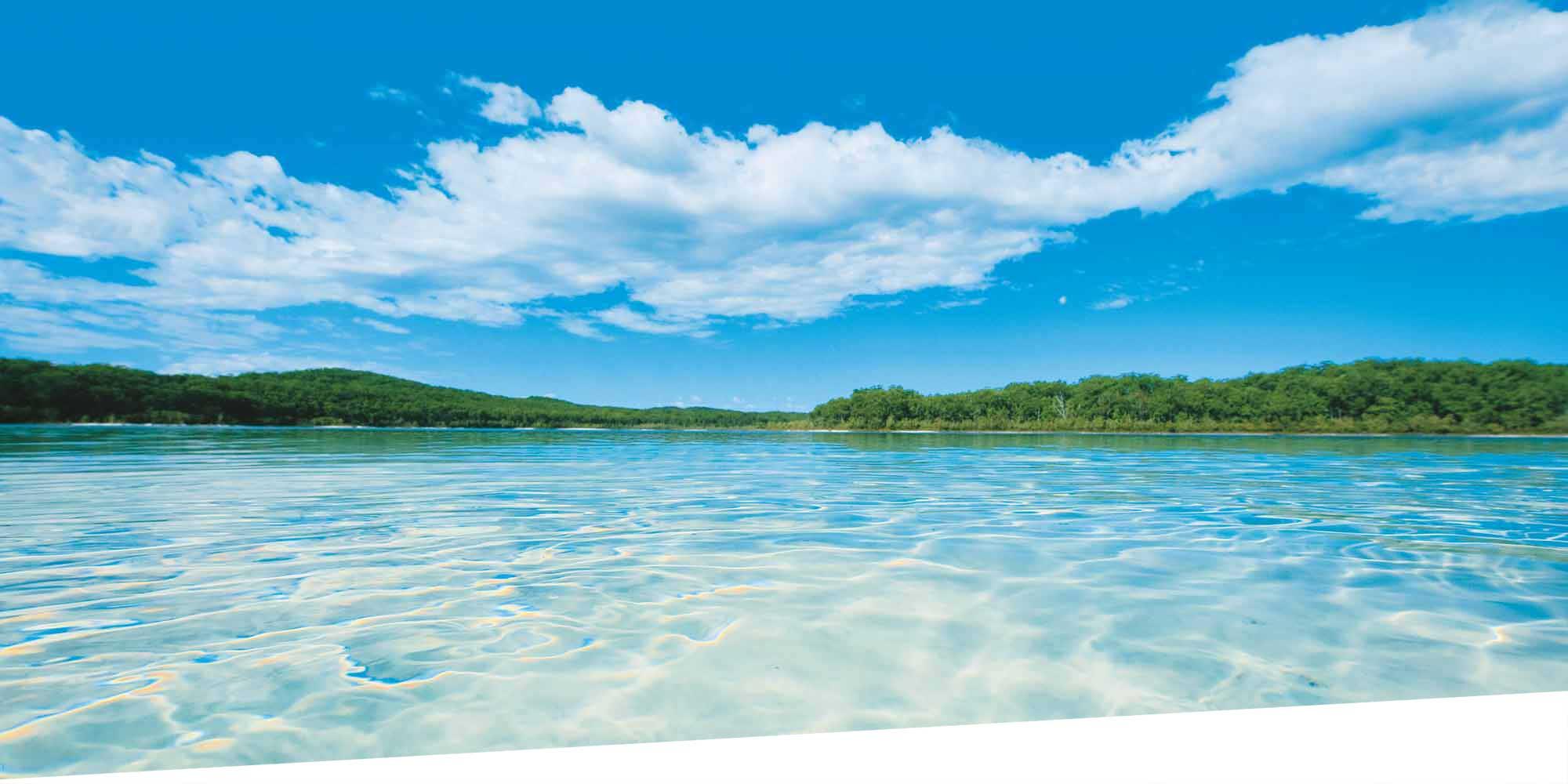 Mile Beach Fraser Island Queensland Australia